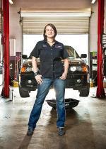 Female Auto Mechanic Breaks Stereotypes