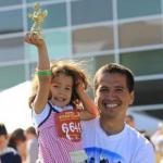 Amazing Father-Daughter Duo Wins Marathon