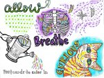 Allow Breathe Curious: A Coloring Book for Mindfulness