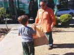 Garbage Collector's Gift to a Child With Autism